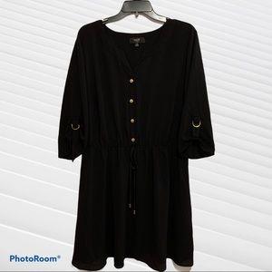 NAÏF women black dress size 2X